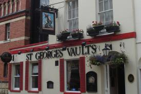 St Georges Vaults on Cheltenham Night Out