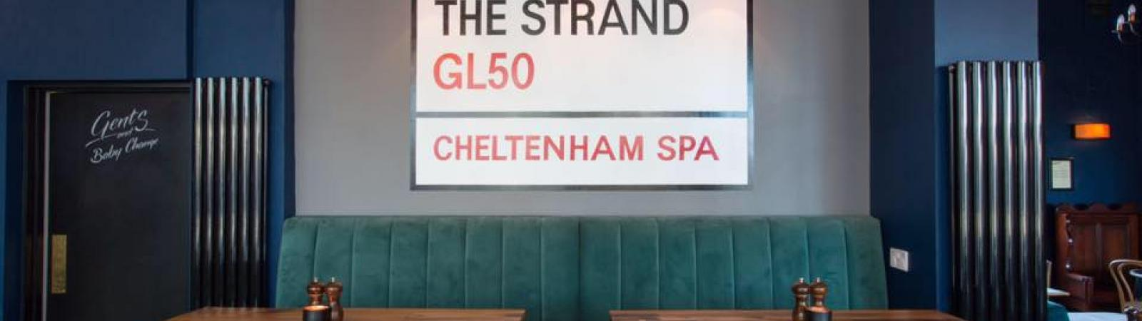 Strand Bar on Cheltenham Night Out
