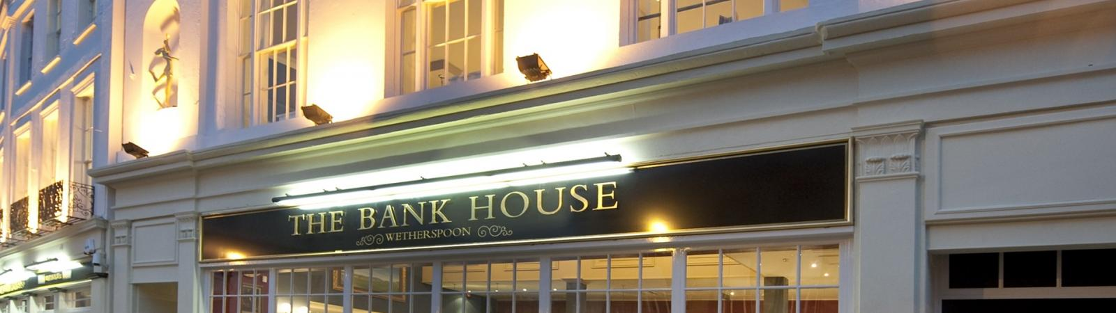 The Bank House on Cheltenham Night Out