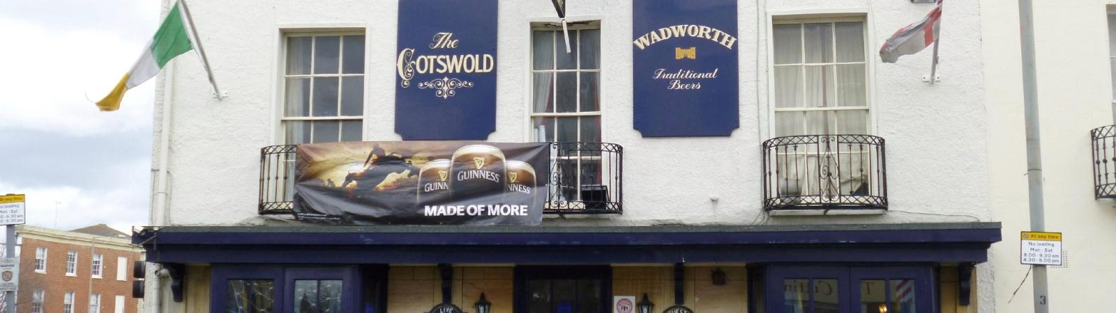 The Cotswold Inn on Cheltenham Night Out