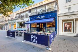 BELLA ITALIA on Cheltenham Night Out | Promoting Cheltenham's nightlife for a great night out in Cheltenham.