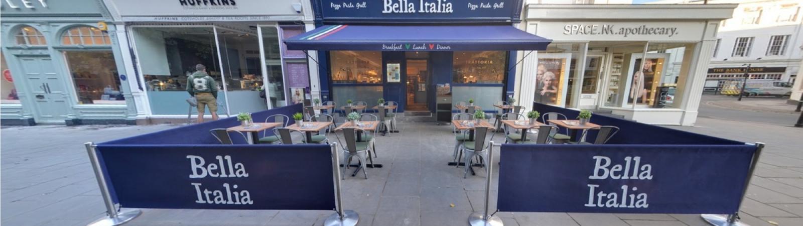 BELLA ITALIA on Cheltenham Night Out | Promoting Cheltenham's nightlife for a great night out in Cheltenham.