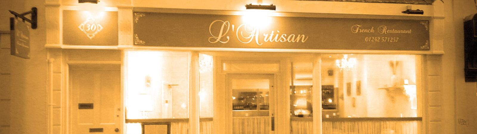 L'ARTISAN FRENCH RESTAURANT on Cheltenham Night Out | Promoting Cheltenham's nightlife for a great night out in Cheltenham.